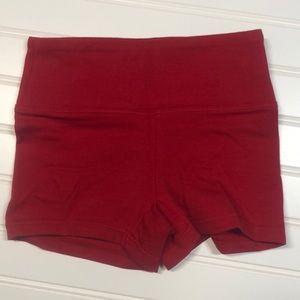 Balera Red Dance Shorts Size SC